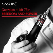 Pipe Tobacco Caja Mod SMOK Guardián 3 Kit de Cigarrillo electrónico E Vaporizador Cigarrillo Vape 75 W Narguile Electrónica Micro TFV4 X9032