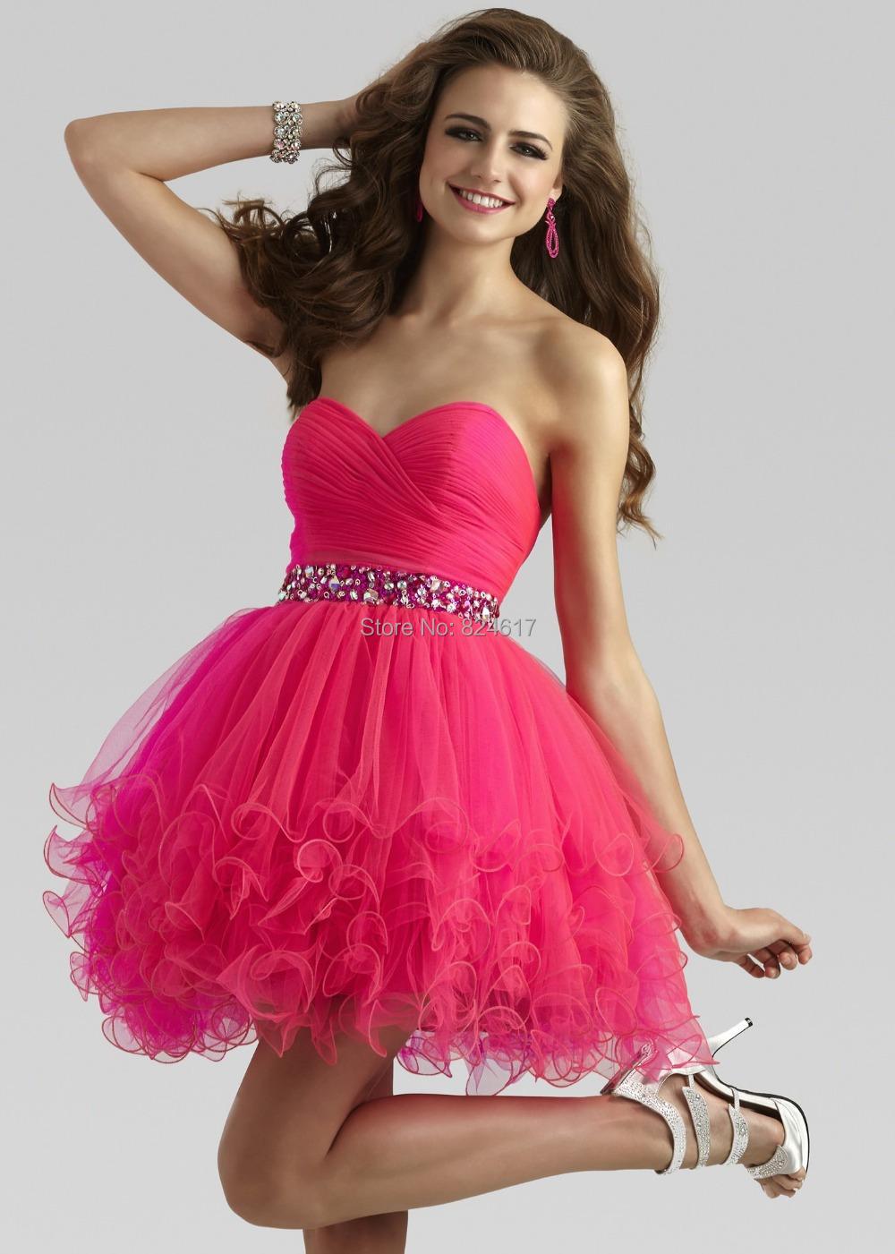 Cute Hot Pink Dresses