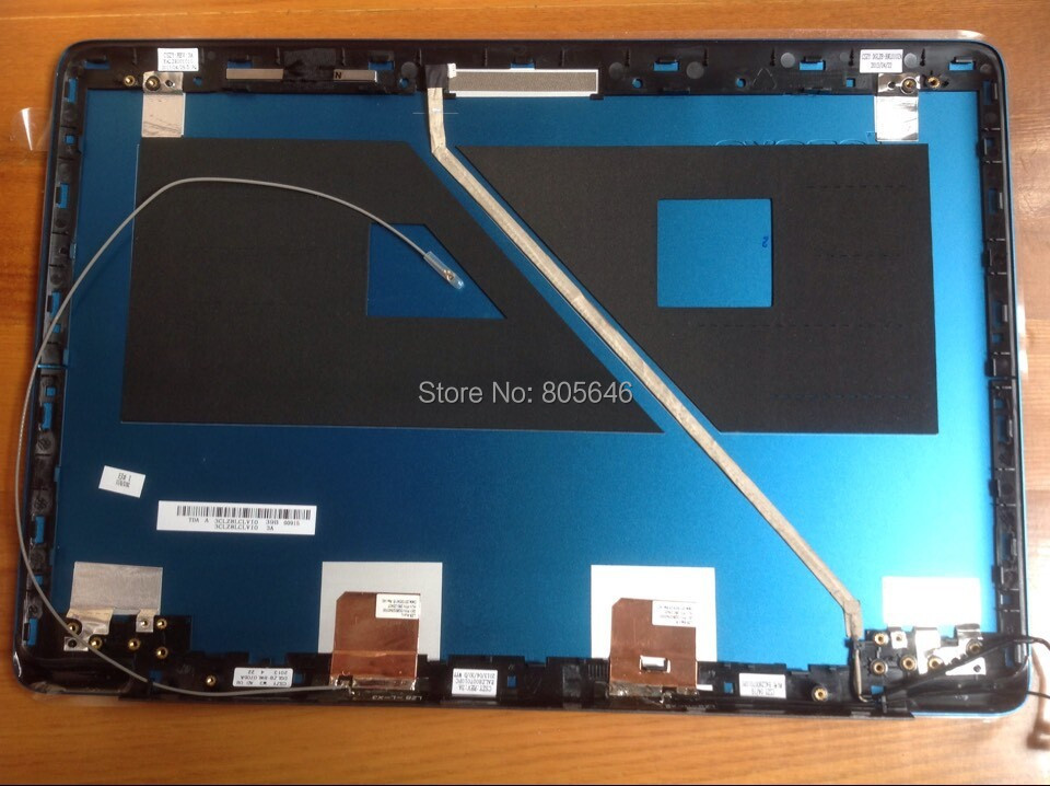 """Original blue LED Back Cover Lid For Lenovo ideapad U410 14"""" ultrabook without touch screen laptop(China (Mainland))"""