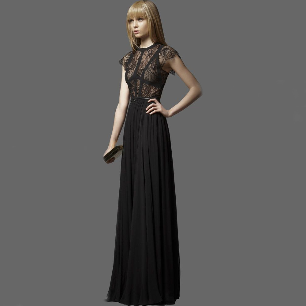 2015 New Summer Style Dress Brief Beautiful Solid Lace Maxi Long Women Dresses 2015 Hot Sale In