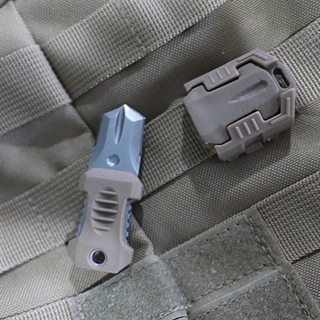 Molle EDC Mini Multifunction Stainless Steel Knife