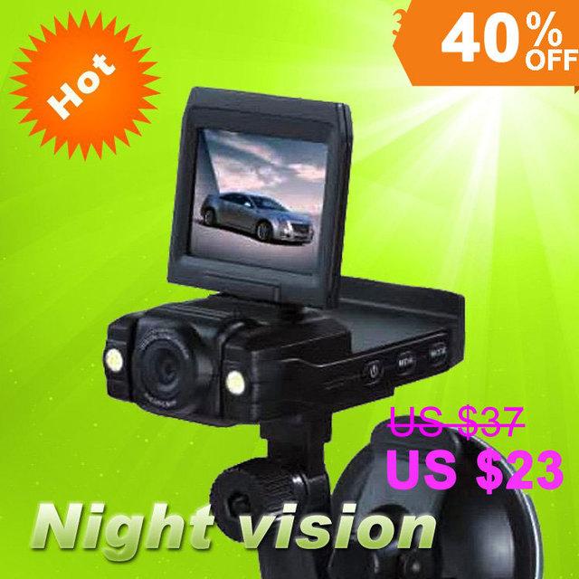 2.0 Inch Car DVR Camera P5000 Car Camera Recorder  with Night Vision AVI Free shipping