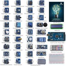 Buy SunFounder 37 modules Mega 2560 Sensor Kit V2.0 Arduino UNO R3 Mega2560 Mega328 Nano for $83.99 in AliExpress store