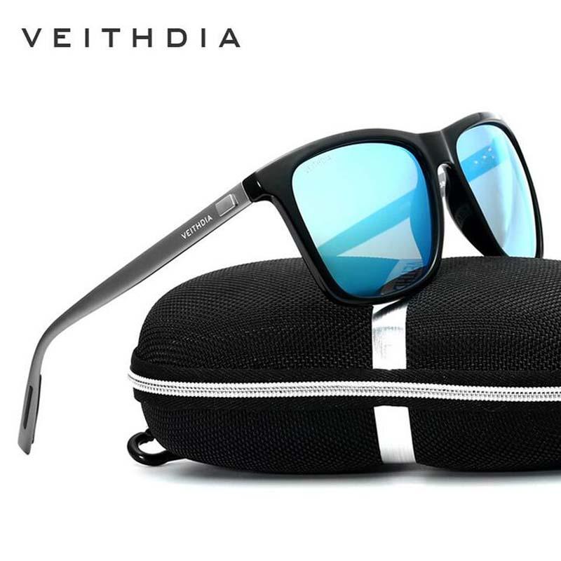 VEITHDIA Men Sunglasses Polarized Lens Aluminum With TR90 Sunglasses Vintage Outdoor Eyewear Sun Glasses For Women 6108(China (Mainland))