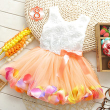 2015 Baby Girls Dress For Newborn Baby Girls Party Dress For Girls Clothes Summer Dresses Baby Tutu Dress For 0-2Y(China (Mainland))