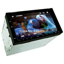 New 2 DIN 7inch screen Support Rear Camera Car Stereo MP4 Player 12V Car MP5 Audio Bluetooth/hands free/USB/Remote Control(China (Mainland))