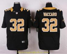 Men's free shiping A+++ quality New Orleans Saints #32 Kenny Vaccaro Elite(China (Mainland))