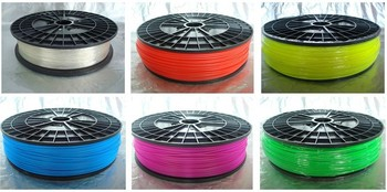 3D printer filament  materialPLA,1kg/1.75mm white or any other colors.environmental-friendly!