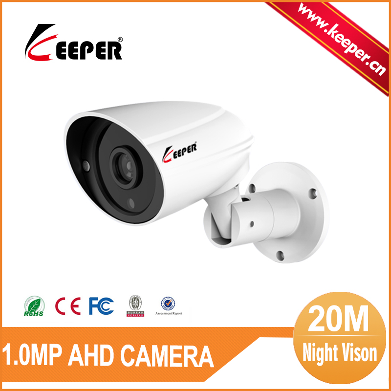 KEEPER Freeshipping 720P AHD CMOS IR Leds HD Cam Day/night Waterproof Outdoor CCTV Camera with Bracket Serveillance Home(China (Mainland))
