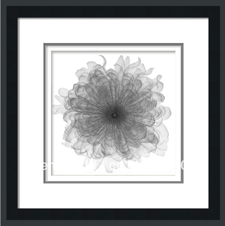 handpainted PS frame spray seascape flower Art painting oil painting