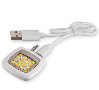 Smart Phones Autodyne Flashlights 16 LED Lights Enhancing Flashlights Selfie For Android Phones Camera Tablets