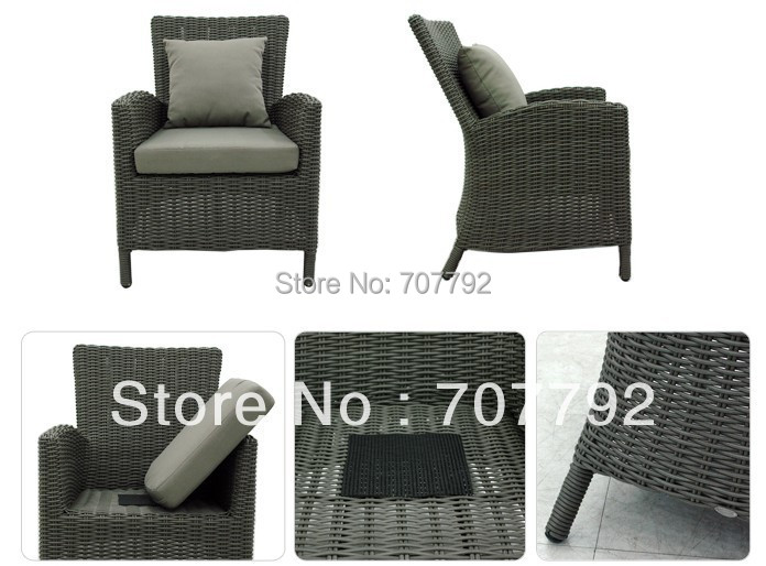 NEW modern furniture rattan furniture patio furniture sofa outdoor terrace furniture sofa Set(China (Mainland))