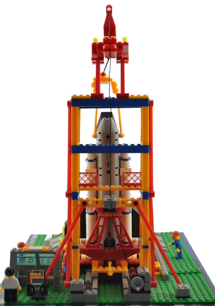 Enlighten Area Shuttle Launch Pad Launch Base Mannequin Constructing Blocks Units Minifigures Suitable With Legoe
