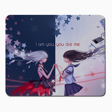 Buy Anime girl am Anime Gaming Mouse Pad Notebook Computer Mouse Mat Keyboard Large Mousepads cs go dota league legend for $2.14 in AliExpress store
