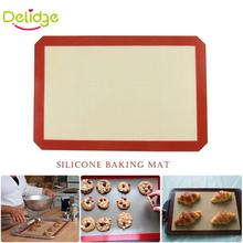 1 PZ di Grandi Dimensioni 42*29.6 cm Cottura Mat Antiaderente Da Forno In Silicone Pad Per La Torta Biscotto Macaron Antiaderente Da Forno Fodera(China (Mainland))