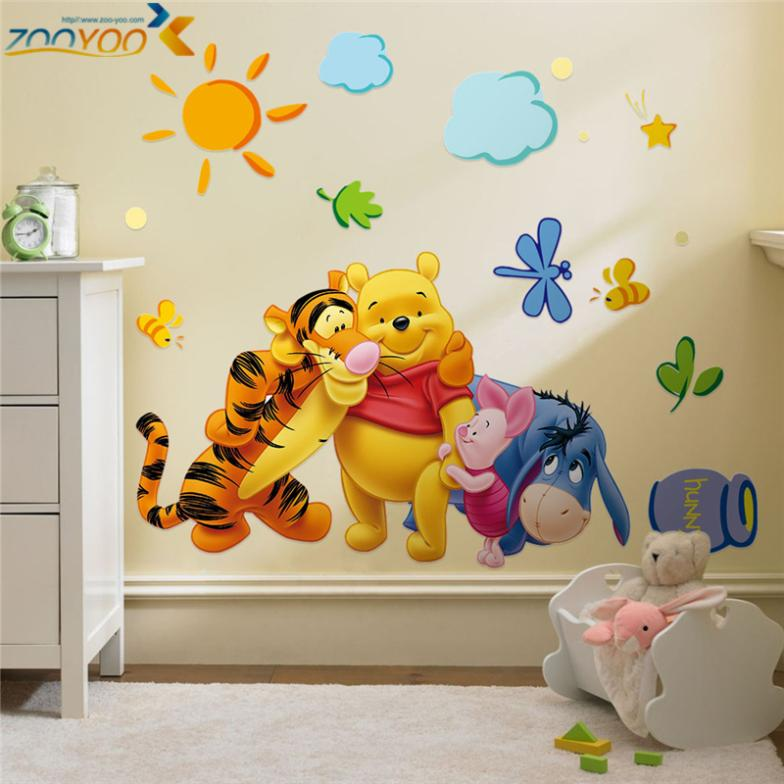 Creative wall stickers #13 Winnie the Pooh and Friends
