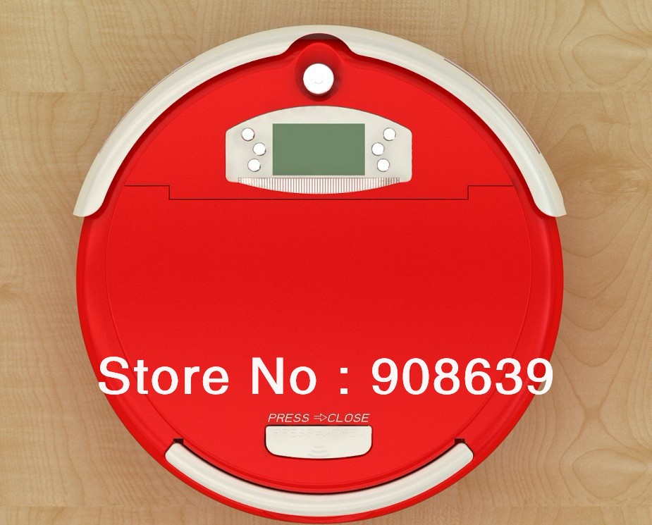Free Shipping For Russian Buyer/ Smart Vacuum Cleaner Robot With Larger Dust Bin Box +China Original +UV lights +CE&ROHS(China (Mainland))