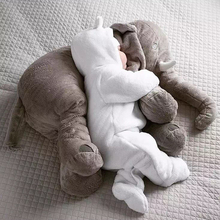 Creative Plush Toys Baby Adult Elephant Comfort Pillow A Cushion Undertakes Gift for Family Animal Infant Toys(China (Mainland))
