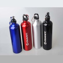 -New Design Bicycle aluminum alloy water bottle bicycle ride water bottle mountain bike aluminum alloy water bottle free shiping(China (Mainland))