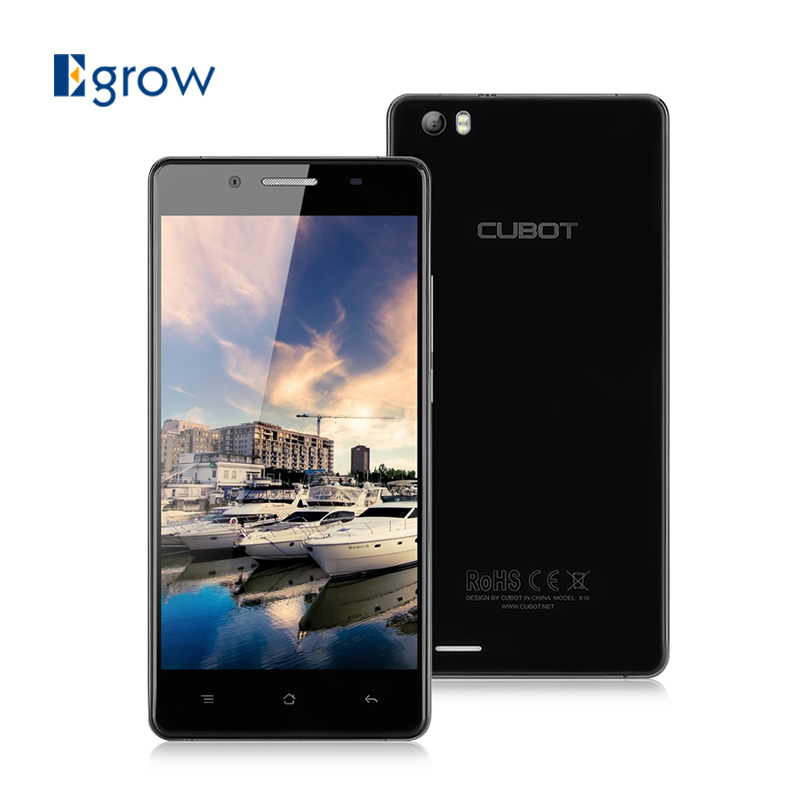 Original CUBOT X16 MTK6735 Quad Core Cell Phone Android 5.1 Unlocked 5.0inch Mobile Phone 2G RAM 16G ROM Smartphone(China (Mainland))