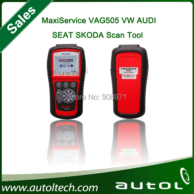2015 Top selling Autel MaxiService VAG505 for VW//SKODA/SEAT Scan Tool(China (Mainland))