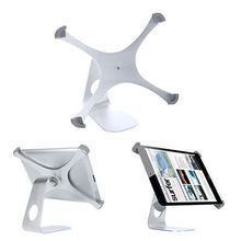 """High quality new 360 Degree Rotatable Aluminum Alloy Table Stand Holder for Apple iPad 2 3 4 9.7"""" Tablet PC Silver(China (Mainland))"""