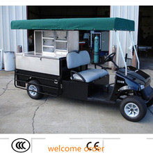 Factory direct sale ! golf cart meat wagon custom dining car cruiser Grocery cart mobile store sightseeing vehicle meat wagon(China (Mainland))