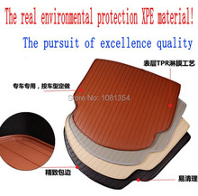 Environmental Senior Auto Carpets 5 Series 7 Series X1X3X5X6  520i 523li 528li 535gt 530li 730li 740li 760 Special Car trunk mat(China (Mainland))