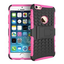 Coque For iphone 5C Fundas Silicone Armor Hard Hybrid Plastic Shell Cases For Apple iPhone 5C Case Holder Stand Luxury Covers <{(China (Mainland))