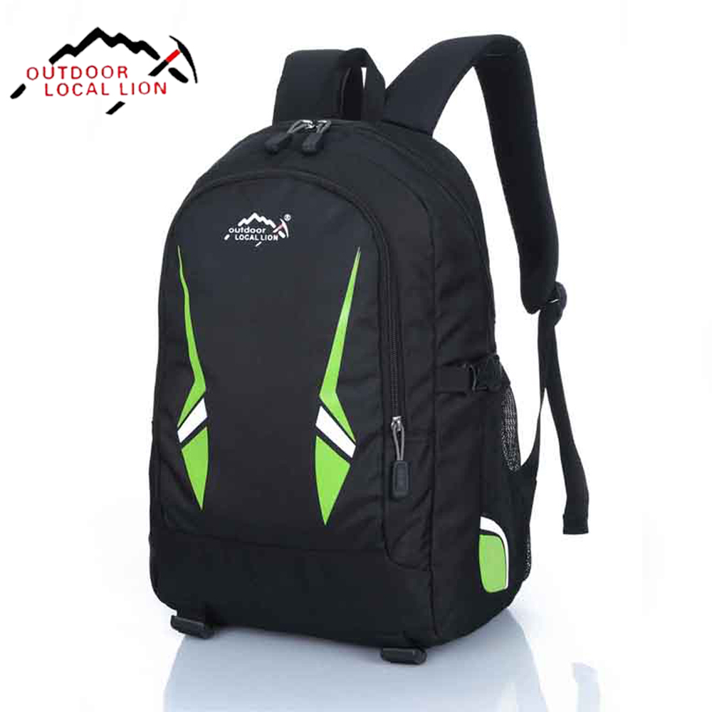 LOCAL LION Outdoor Waterproof Backpack Sports Hiking School Backpack Travel Bag High Quality Unisex Laptop Backpack HT502-1(China (Mainland))