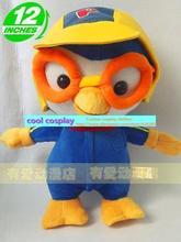 Kawaii Hot Stuffed Anime Plush Toys The Penguin Pororo Brand Toy Penguin Dolls kid Gifts 32cm cute toy gift