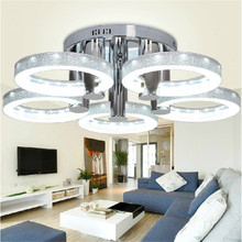 Simple Modern LED Round love Ceiling LED Ceiling Light Dia 76cm Height 22cm 220V 50W For Indoor LED light Ceiling Lamp(China (Mainland))
