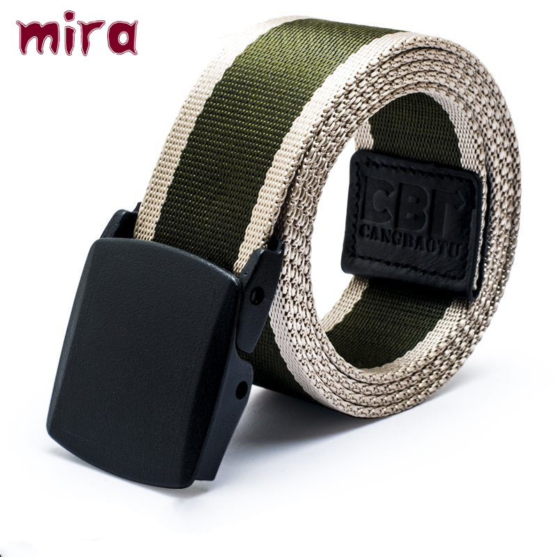 2016 Mens Belts Luxury Letter Adult Men free The Belt Belts Cinto Masculino Anti-allergic Nylon Male Casual Canvas Strap Knitted(China (Mainland))