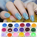 2016 New 30 36 Pcs Mix Color Nail Art UV Gel Pure Professional Colorful Nail Gel