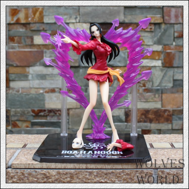 High quality Japanese Anime one piece action figure one piece Empress PVC Action Figure Collectible Model Toy boxed(China (Mainland))