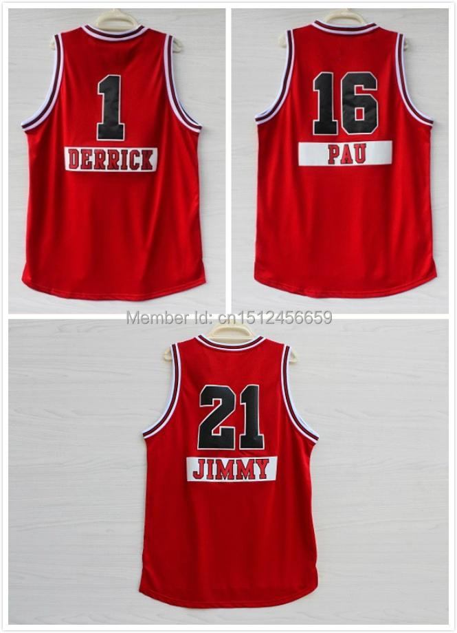2014 -15 Season New Style Christmas Day Basketball Shirts Jersey Chicago First Name Derrick Pau jimmy - SH-Jersey-Store store