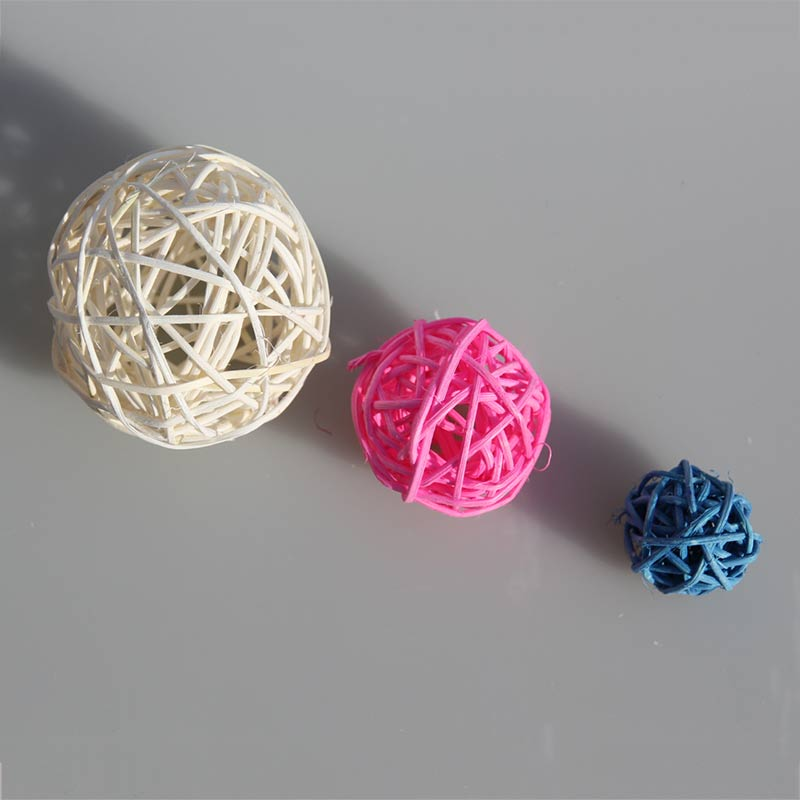 10pcs multi size mix color photography photo props accessories samll sepakakraw ball round rattan ball wedding party decoration (1)