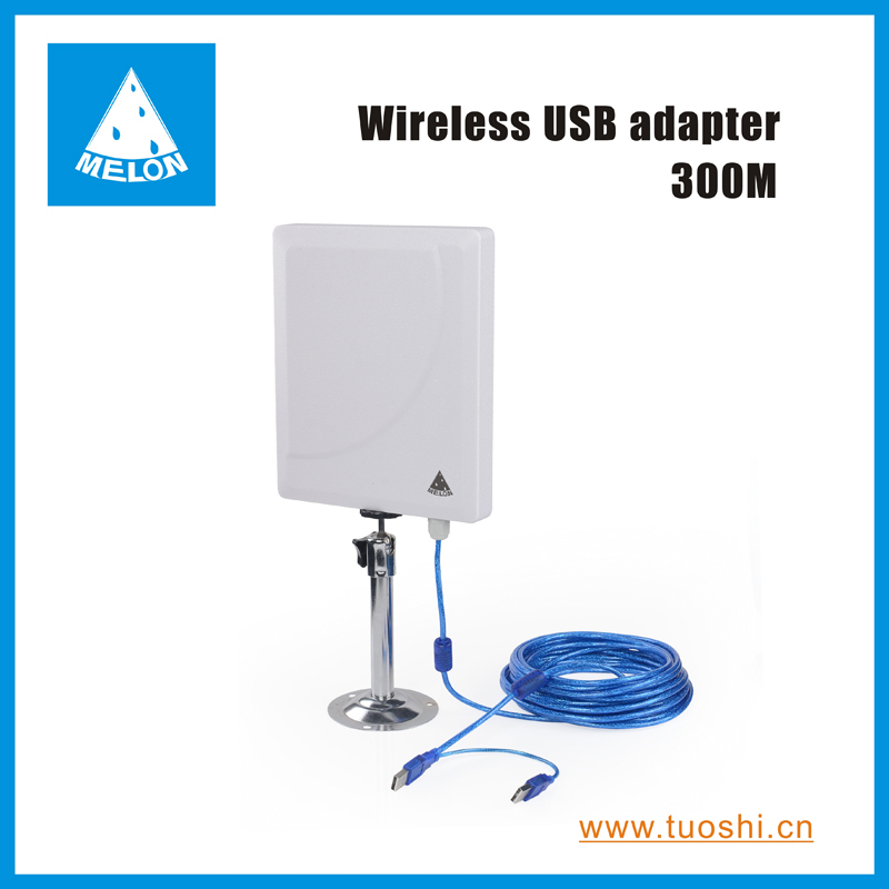 300Mbps high speed outdoor 2.4GHz 2000mW high power wireless adapter(China (Mainland))