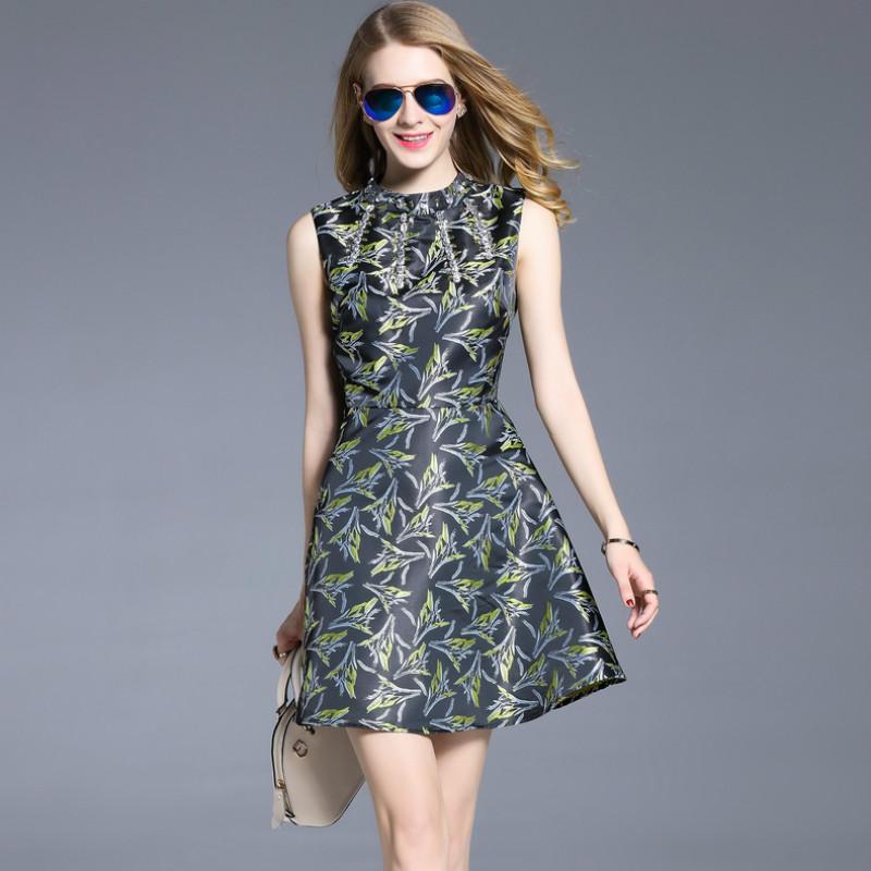 fashion 2017 ukraine women summer dress Vintage style plus size dress O neck working party dresses women sexy dress top(China (Mainland))