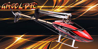 Freeshipping  GT450L DFC TT Version 2.4GHz 6CH RC Helicopter Kit Fits Align Trex