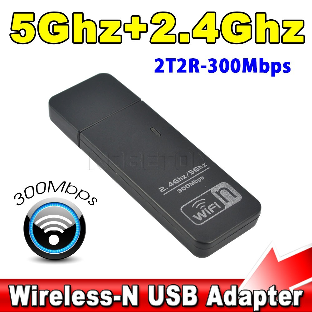 Fast Mini Wireless USB WiFi WPS Network Lan Adapter 300Mbps Dual Band 5GHz 2.4GHz WiFi Signal Booster Antenna Ralink RT5572N(China (Mainland))