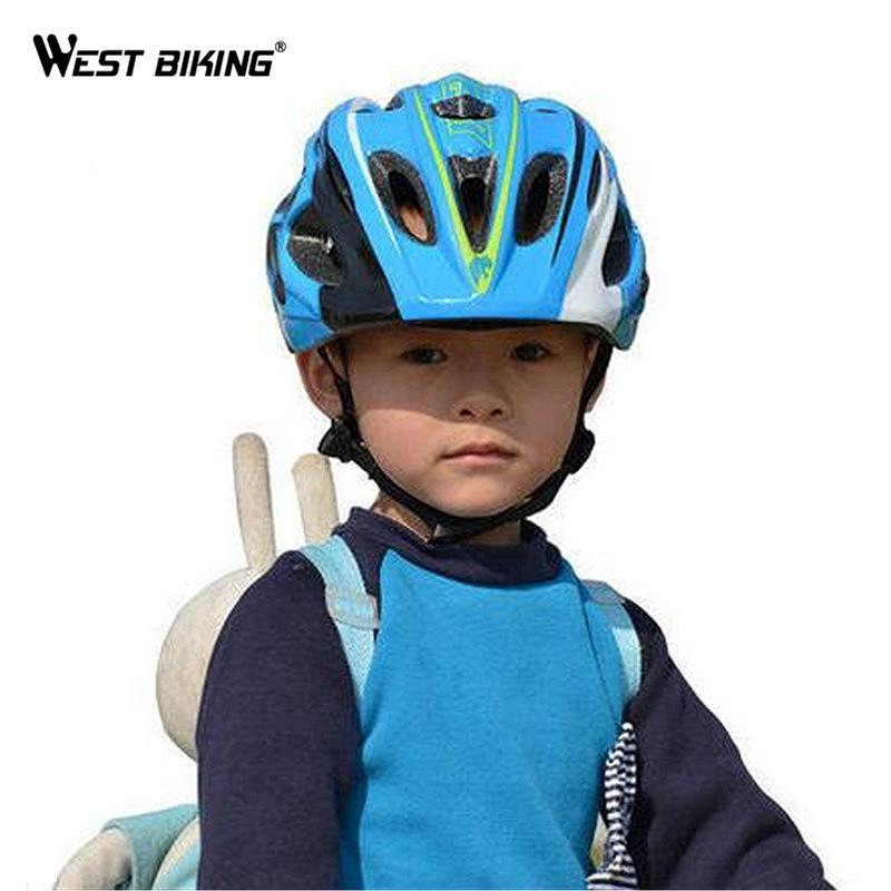 WEST BIKING Kids Bike Helmet Ultralight Children's Safety Bicycle Helmet Cycling Helmet Child Ciclismo Bike Equipment Helmet(China (Mainland))