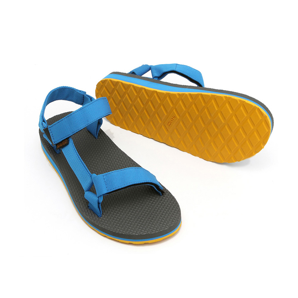 Comfortable man sandal shoe 2015 summer outdoor black color rubber outsole fashion sandals<br><br>Aliexpress