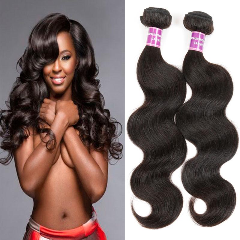 She Virgin Hair 2pcs 7A Unprocessedn Brazilian Virgin Body Wave Wet And Wavy Human Hair Natural Asteria Brazilian Body Wave<br><br>Aliexpress