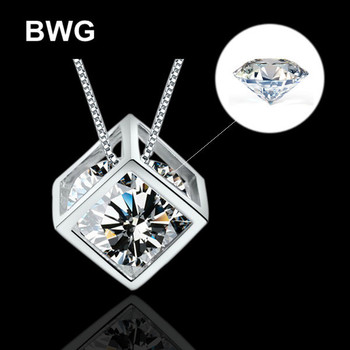 Vintage Crystal Geometric Necklaces & Pendants Silver Plated Zircon Jewelry Collares Mujer Statement Colar For Women Gift  XL