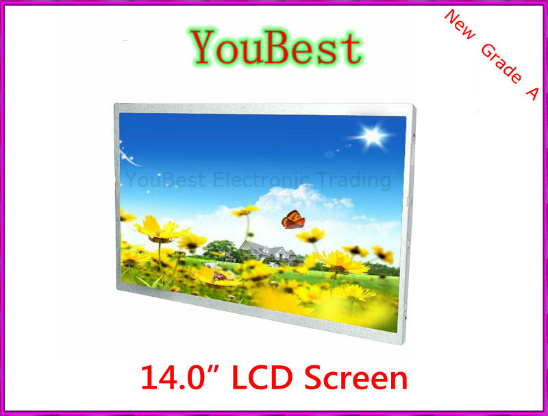 "LAPTOP LCD SCREEN FOR DELL HR1VT 14.0"" WXGA HD 1366x768(China (Mainland))"