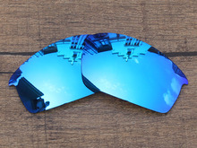 Polycarbonate-Ice Blue Mirror Replacement Lenses For Bottlecap Sunglasses Frame 100% UVA & UVB Protection