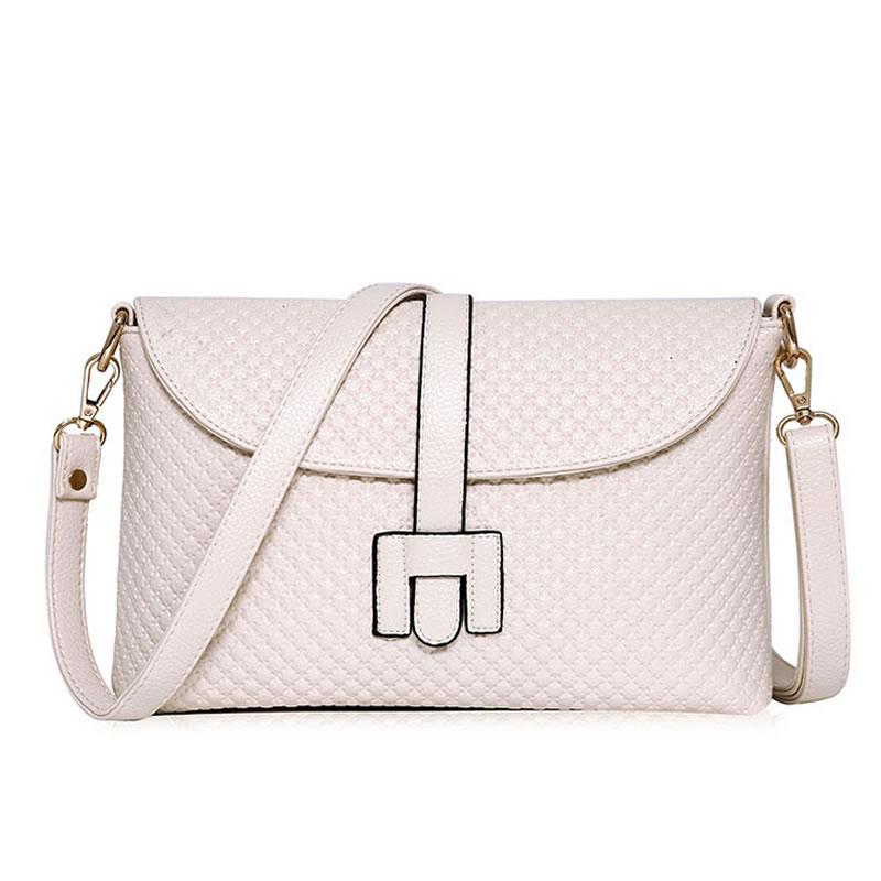 2016 New style fashion soft Women messenger bag high quality handbag chain genuine leather color red black bolsas mujer XA60L<br><br>Aliexpress