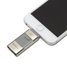 For iPhone 6 6s Plus 5 5S ipad Pen drive HD memory stick Dual purpose mobile OTG Micro USB Flash Drive 16GB 32GB 64GB PENDRIVE(China (Mainland))