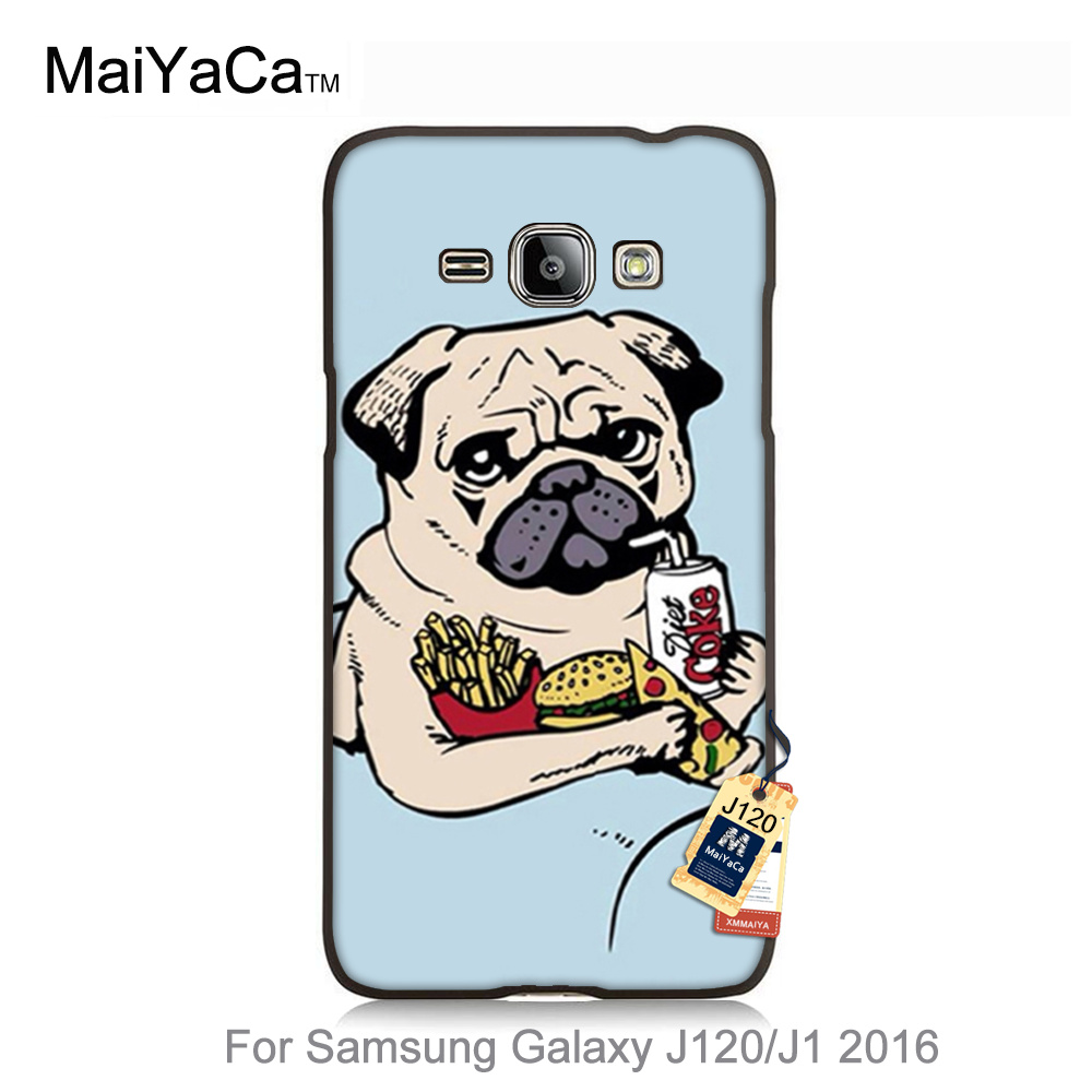 Cute Pug Memes Excellent case for galaxy J120 Newest Luxury Phone Protector Accessories Cover